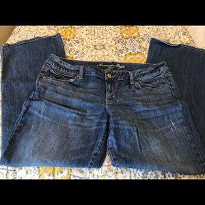 American Eagle Medium Wash Bootcut Jeans 16S